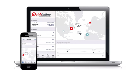 Quick Releases New Version of QuickOnline Customer Software for Managing Life Science Supply Chain Logistics